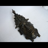 Masque Africain bronze