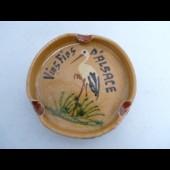 Cendrier céramique Vins Fins d'Alsace