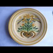 Grand plat céramique Art populaire Savoie