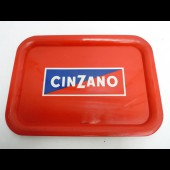 Plateau publicité CINZANO Bistrot Alcool