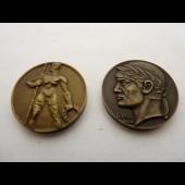 Médailles des jeux de Genève 1942 et 1944 Sport (x2)