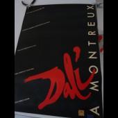 Affiche Salvador DALI Exposition MONTREUX 1984