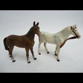 Deux chevaux ELASTOLIN