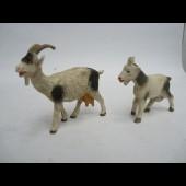 Deux chèvres ELASTOLIN