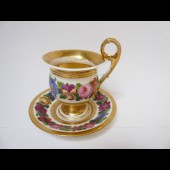 Tasse porcelaine Style Empire
