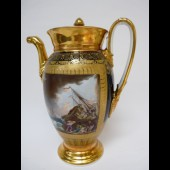 Cafetière porcelaine d'époque Empire