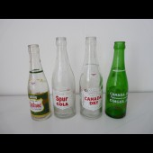 Quatre bouteilles 1950 CANADA DRY