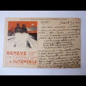 CPA Suisse Exposition De L'Automobile Et Du Cycle 1906