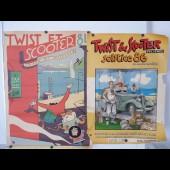 "Affiches ( 2 ) "" Twist et Scooter "" 1984-86"