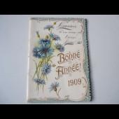 Calendrier Bonne Année 1909