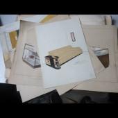 Dessins (19) originaux de mobiliers Art déco