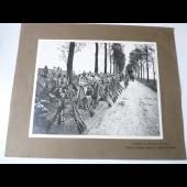 Photographie guerre bataille de Picardie troupes annamites