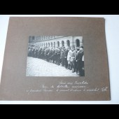 Photographie guerre Paris Général PERSHING maréchal JOFFRE POINCARE