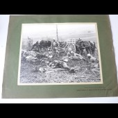 Photographie guerre front français de la somme