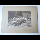 Photo Scouts Lac Blanc Juillet 1921