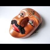 Masque grotesque de théâtre indonésien Bali